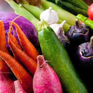 安全無農薬の野菜