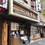初代築地 魚義 - 蔵前橋通りの店頭
