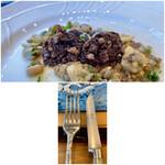 クリマ ディ トスカーナ - サングイナッチョを切るナイフはBERTI社製 切れ味抜群です♪