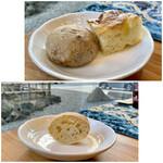 クリマ ディ トスカーナ - フォカッチャとクルミの全粒粉パン ややや、ちょっと以前よりも美味しく進化してませんかこれ! 特にフォカッチャは素晴らしいです♪