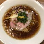 麺屋福丸 - 鴨だし醤油ラーメン(800円)