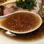 麺屋福丸 - 鴨清湯スープ