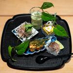 日本料理 楽心 - 八寸