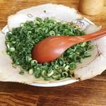 太華園 - チャーシュー麺ですネギトッピングしてません