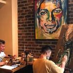 アレヴェリー テラス - アート作品のエキシビジョン、ライブイベントなども開催しています。