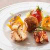 maru 3F - 料理写真:前菜1 魚介の前菜6種盛り合わせ