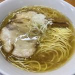 141594663 - カミソリパンチ(淡麗醤油細麺)750円。