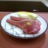 鮨 そえ島 - 料理写真:◆やいと鰹・づけ・・鰹の中では最上で高級品ですが、上品な脂がのり、見た目通りに美味しい。