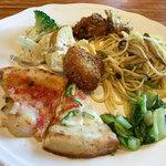 ダンザ パデーラ - お野菜中心とゆーモノのどれも凝ったお料理ばっかり!