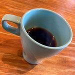 ダンザ パデーラ - ホットコーヒー。ドリンク類もお洒落なのが揃ってました。