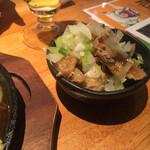 modankuukankyouakajidorisashikurafutobi-rudonshunotori - * 鶏皮ポン酢 290円