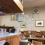 鍋焼きラーメン千秋 - 店内の雰囲気