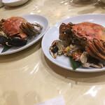Ichiraku - 活き上海蟹の丸蒸し (一人一杯)