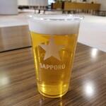 ながぬま温泉 - ドリンク写真:生ビール 500円