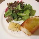 トラットリア アッカ - パスタセットの前菜