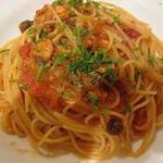 トラットリア アッカ - お魚のラグーソーストマト