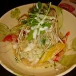 まかない屋 らふ亭 - 豆腐とゴーヤのサラダ