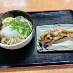 桃山亭 - 料理写真:「おろしぶっかけ冷中」 「イカゲソ」