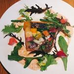 BISTRO INOCCHI - 50種の彩り野菜と穀物のテリーヌ