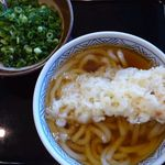 どんどん - 天ぷらうどん420円
