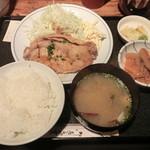 14162704 - 生姜焼き定食