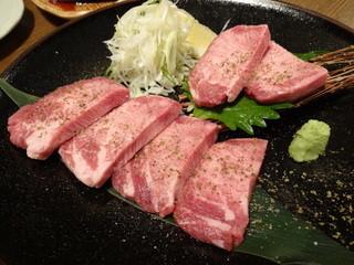 龍音 - 厚切りタン(1680円)