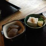祖谷そば もみじ亭 - 小鉢