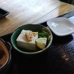 祖谷そば もみじ亭 - 湯葉豆腐