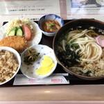 スタート - うどん定食