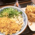 丸亀製麺 - 料理写真:期間限定のワンコインランチ (麺大盛+110円)