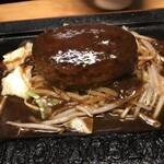 141628468 - 「和牛ハンバーグ定食(200g)」(2,400円)