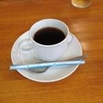 一膳 - ランチタイムには、コーヒーが付きます
