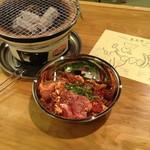 第一ホルモン - 料理写真:新鮮ホルモン5種+日替わり肉の盛合せ500g(3〜4人前)