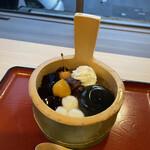 嵐山さくら餅 稲 - わらび餅ぷりんあんみつ