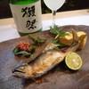 竹寿司 - 料理写真:鮎の塩焼き