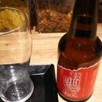 しょうが焼きBaKa - 秋田美人のビール