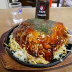 お好み焼き さかい - 料理写真:スペシャルそばダブル¥800