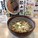 丸八そば - 料理写真: