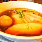 麺屋鈴春 - 醤油味玉らーめん 1000円