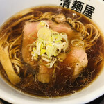 清麺屋 - 醤油鶏そば並