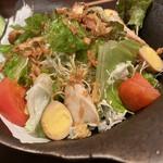 とりのとりこ - とりこサラダ(¥720)