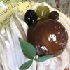 ポーズカフェ - 料理写真:モンブラン  蛙くんがかわいい