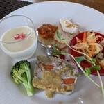 パッパーレ - 料理写真:前菜盛合せ