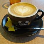メロー ブラウン カフェ - ドリンク写真:カプチーノ