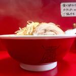 赤ひげラーメン - ラーメン小720円 野菜マシ