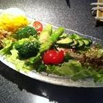 健心流 旬 - 野菜サラダ \600