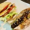燻し家 - 料理写真:エッグチキンサンド&角煮ドッグ
