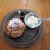 ツキカフェ - 料理写真:黒糖クルミスコーン 350円