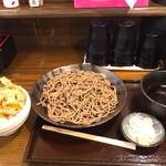 つけ蕎麦・山形肉そば 蕎麦 令和 - 料理写真: