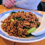 中国ラーメン 揚州商人 - 黒酢炒飯
